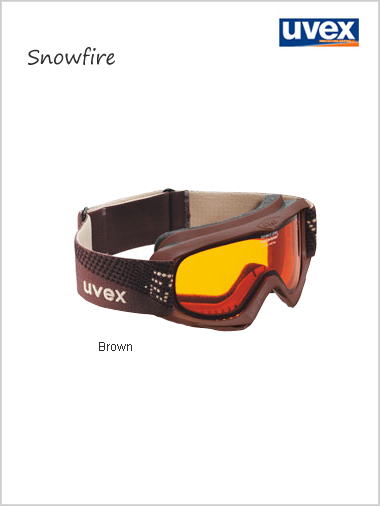 Teenage Snowfire goggle - brown