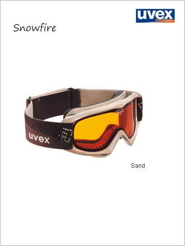 Teenage Snowfire goggle - sand - NOT helmet compatible