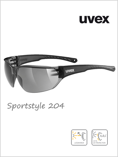 Sportstyle 204 sunglasses (smoke lens) - cat 3