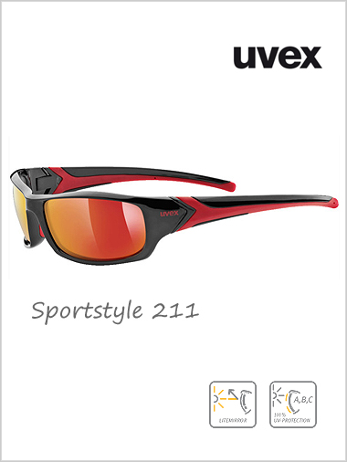 Sportstyle 211 red mirror lens - cat 3