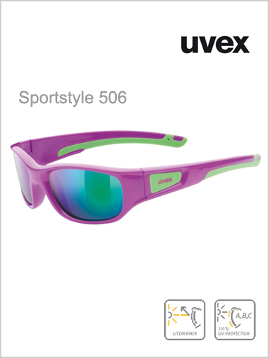 Junior - Sportstyle 506 pink / green mirror