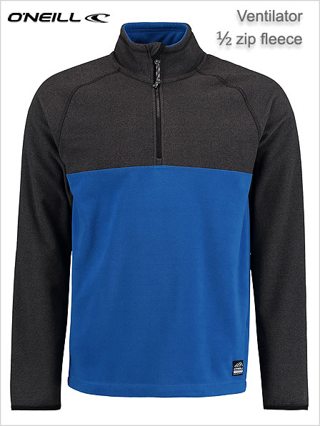 Ventilator - half zip fleece