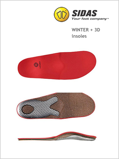 Winter + 3D insoles